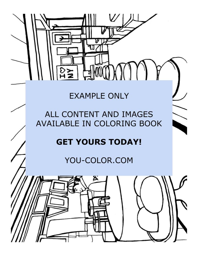 Tick Tock Diner - Coloring Page