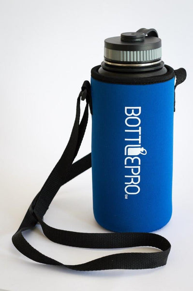 Bottle Carrying Pouch (with Shoulder Strap)