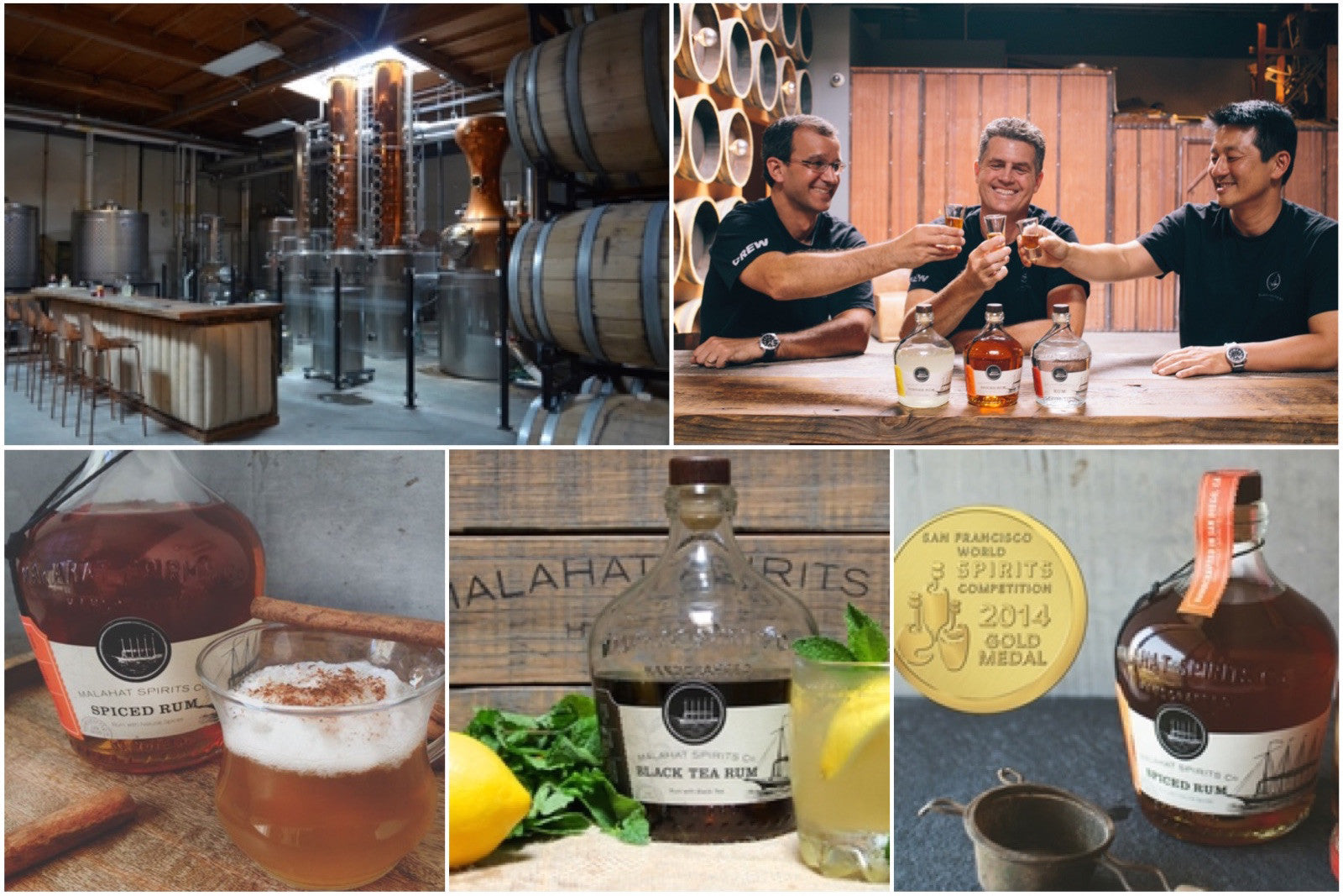San Diego: Holiday Tour of Malahat Spirits