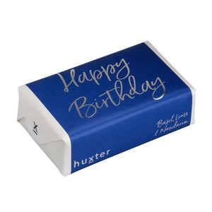 Happy Birthday Navy Soap