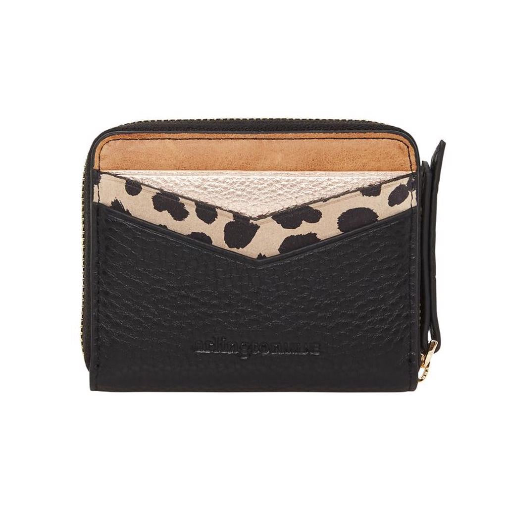 Alexis Zip Purse Black Multi