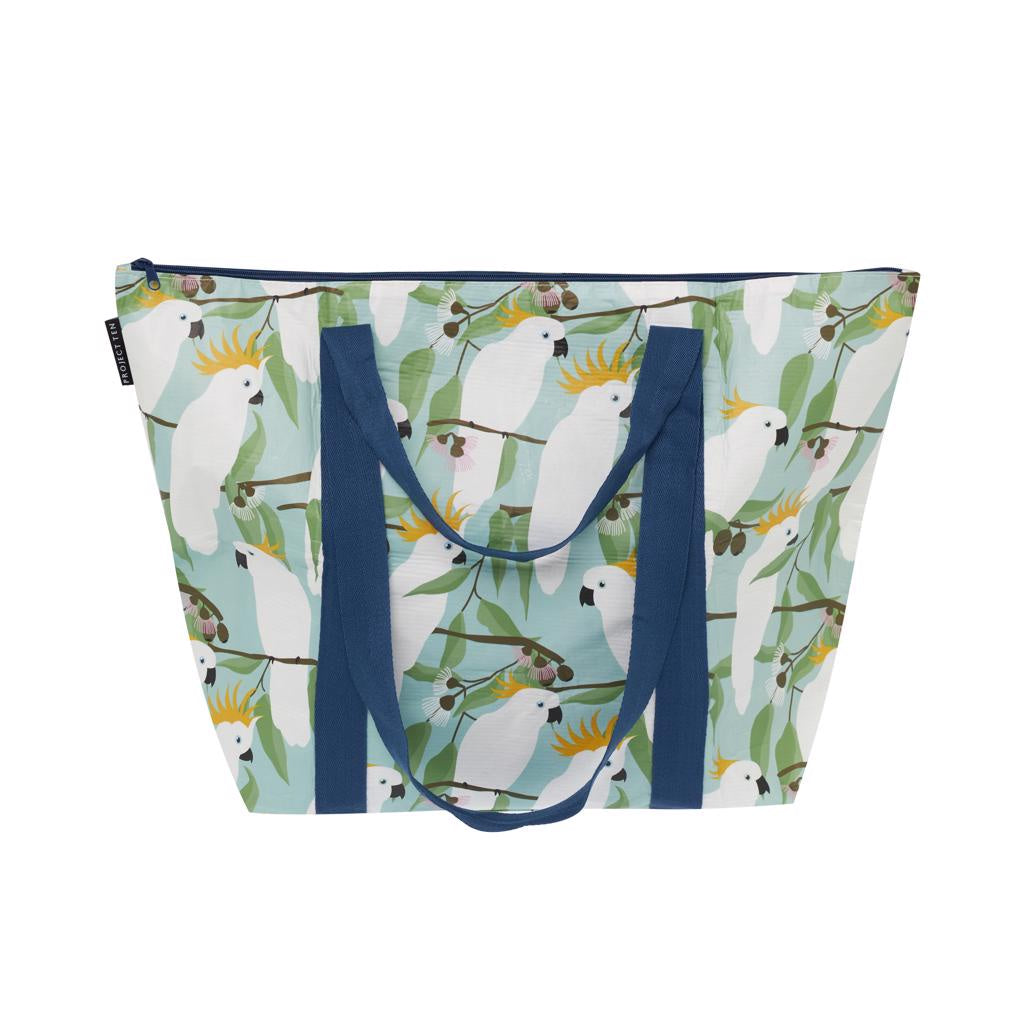 Cockatoo Zip Medium Tote