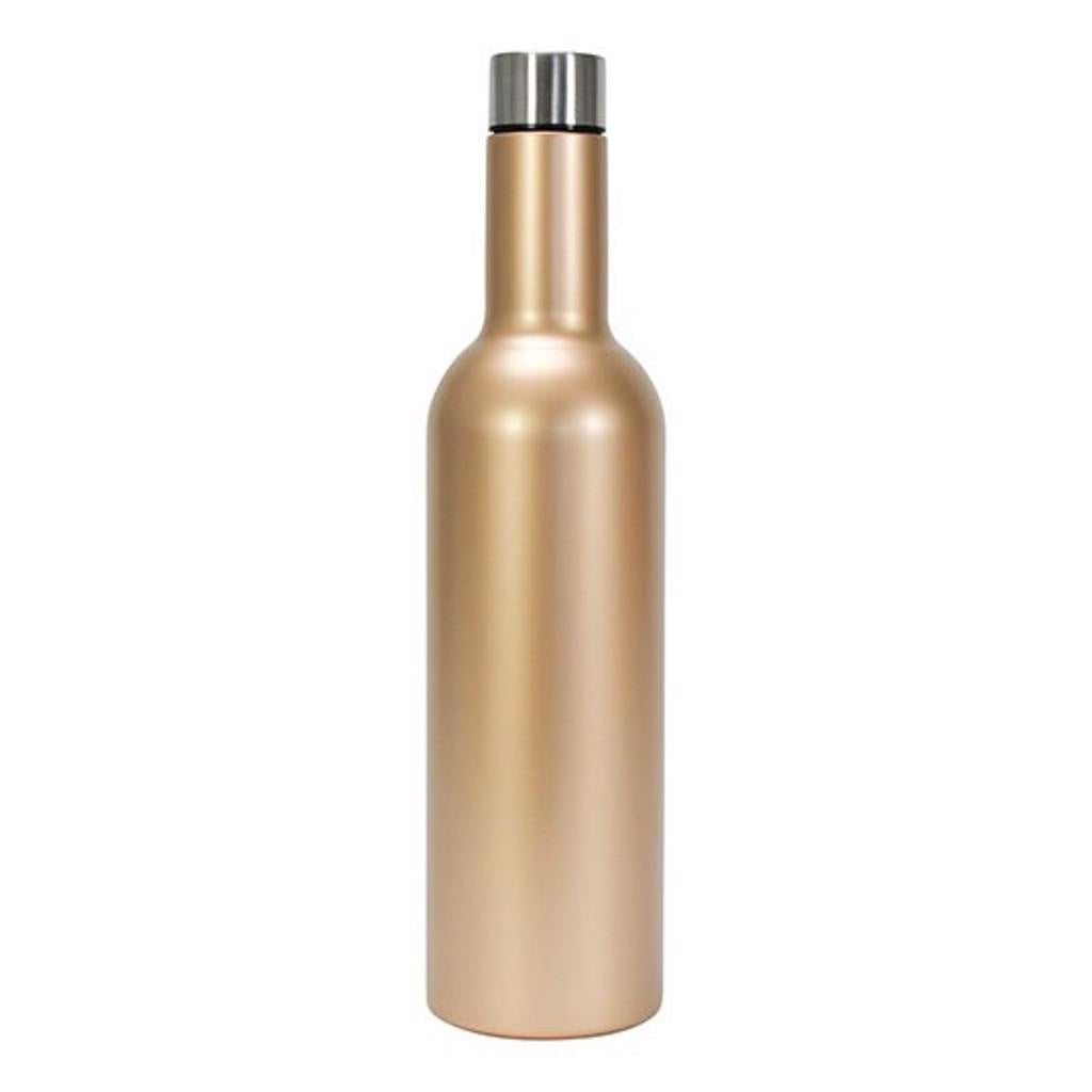 Wine Bottle - Gold