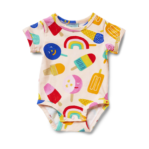 Sweet Dreams Short Sleeve Bodysuit