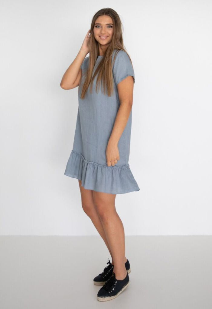 Lilli Dress - Storm Blue