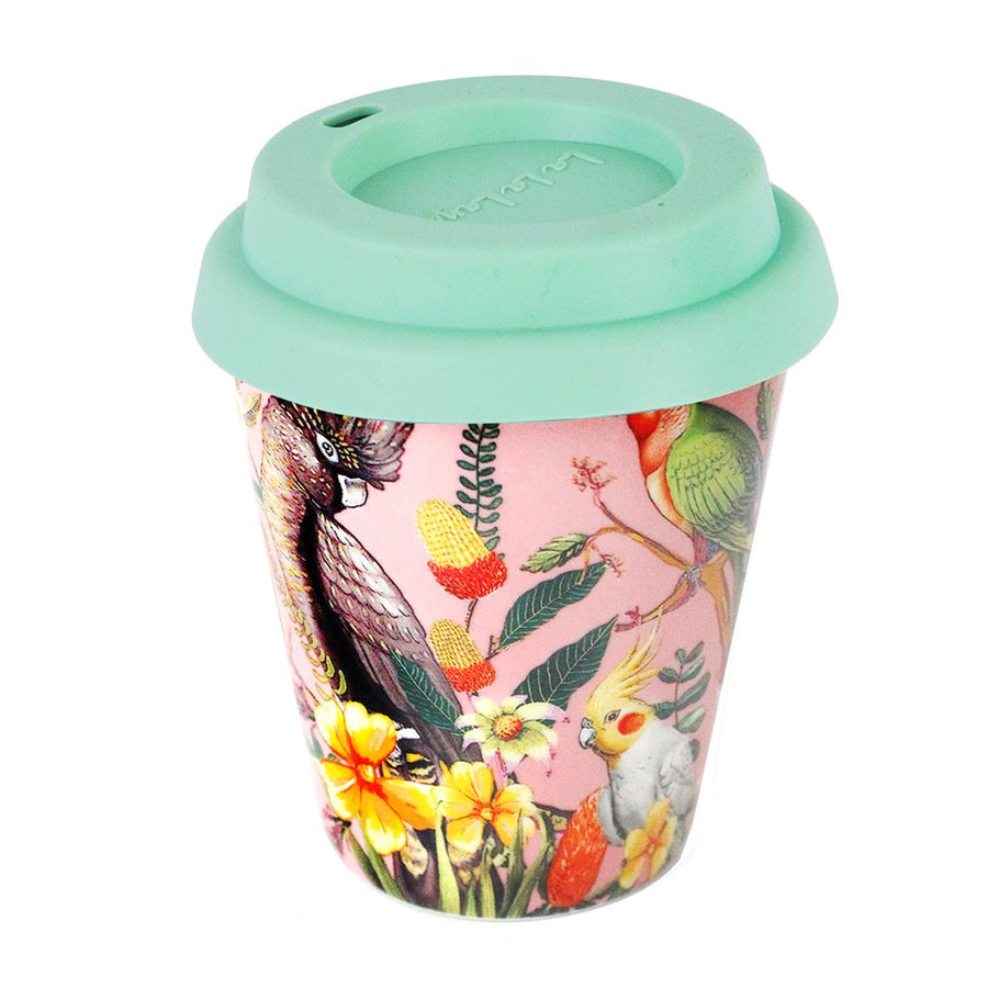 Ceramic Coffee Cup Floral Paradiso