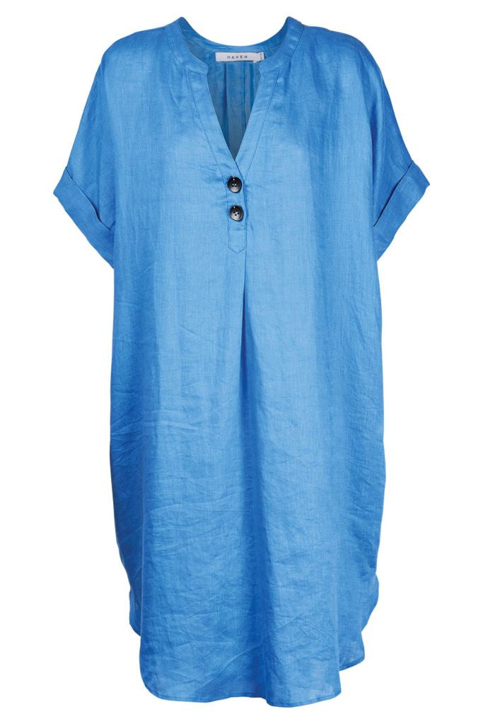 Majorca Shirt Dress - Marina