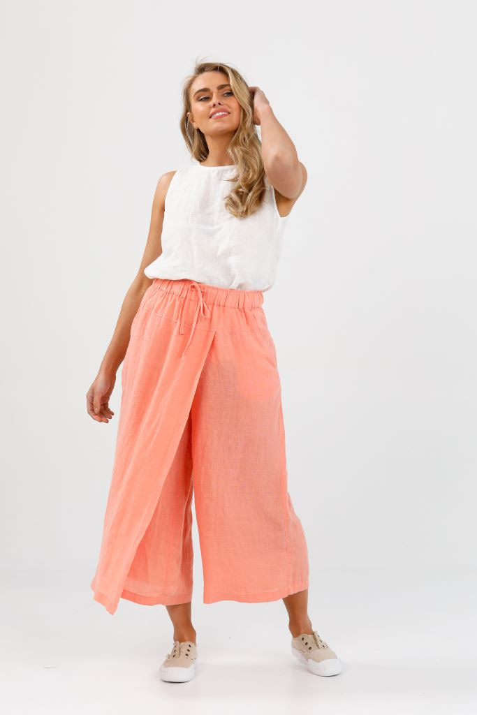 Sunrise Crossover Pant - Coral