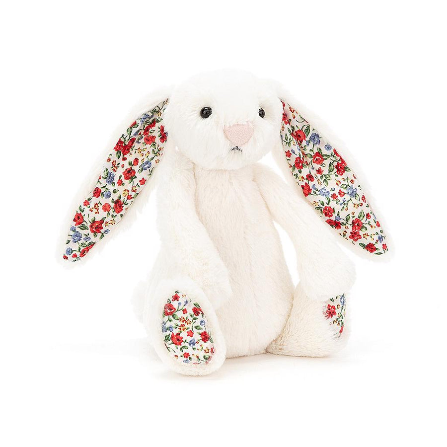 Bashful Blossom Cream Bunny Small