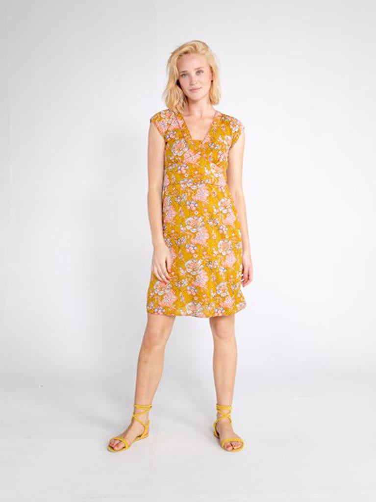Daisy Dress Yarrow Print