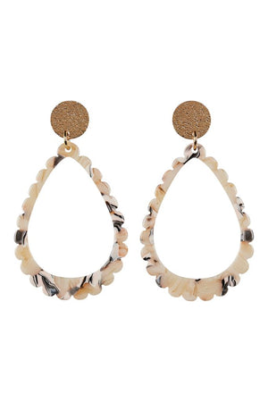 Tribu Teardrop Earring