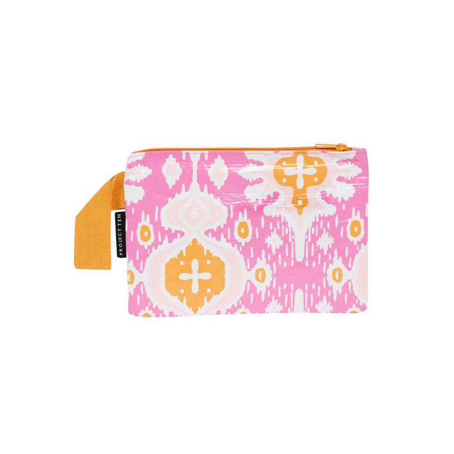 Moroccan Ikat Mini Zip Pouch