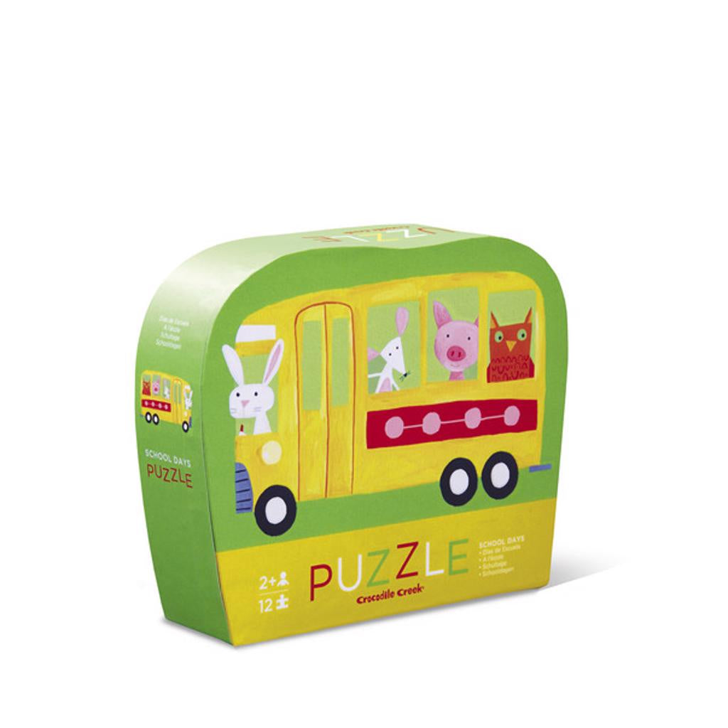 12pc Mini Puzzle School Days