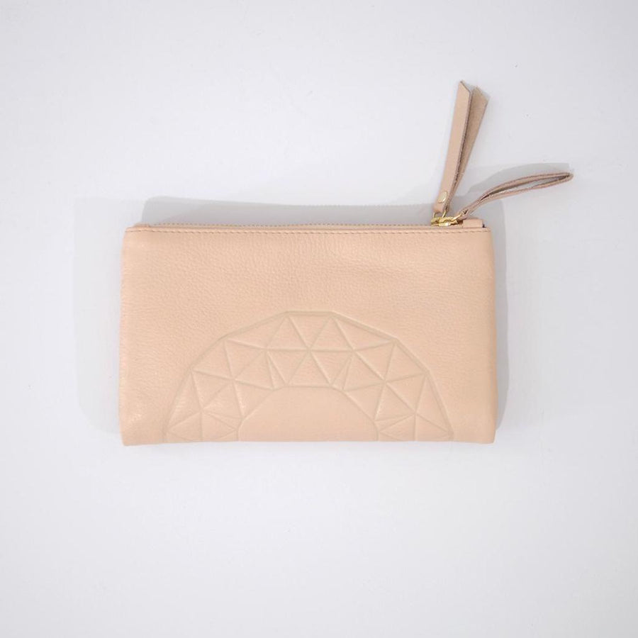 Rose & Lyle ASh Emboss Wallet Blush