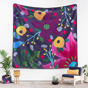 Flower Power Really Big Picnic Rug