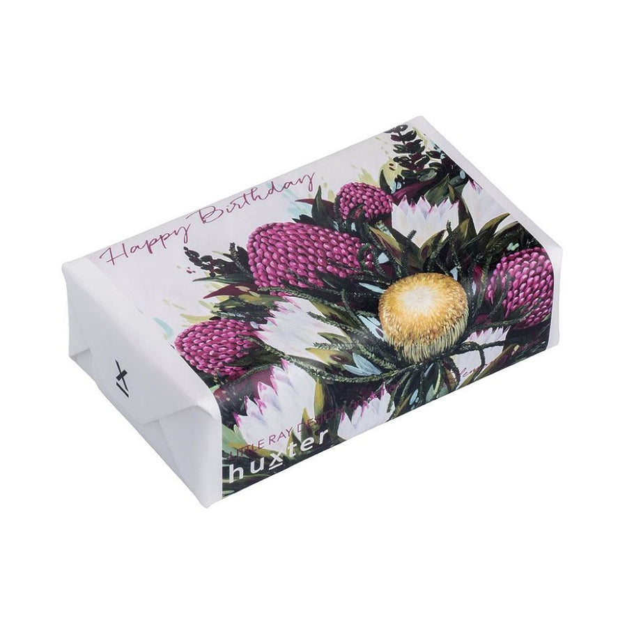 Huxter Waratah Happy Birthday Soap