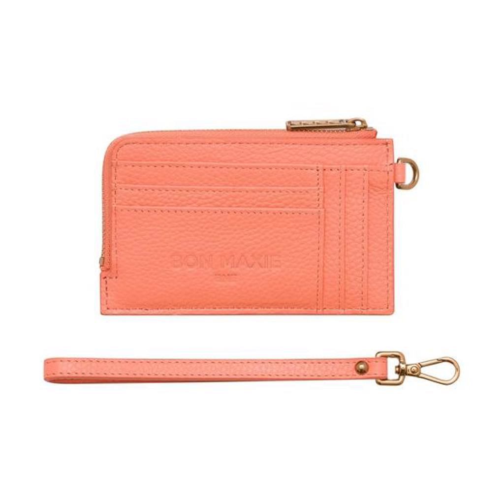 Mighty Mini Wallet 2.0 Peach/Antique Gold