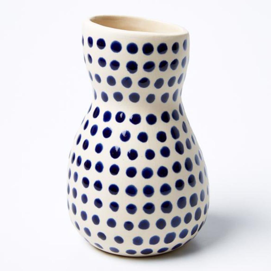 Saturday Vase Blue Mini Spot