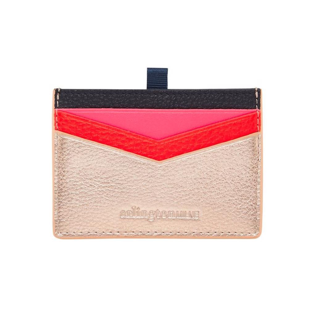 Alexis Cardholder Rose Gold Multi