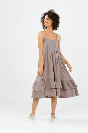 Potenza Dress - Driftwood