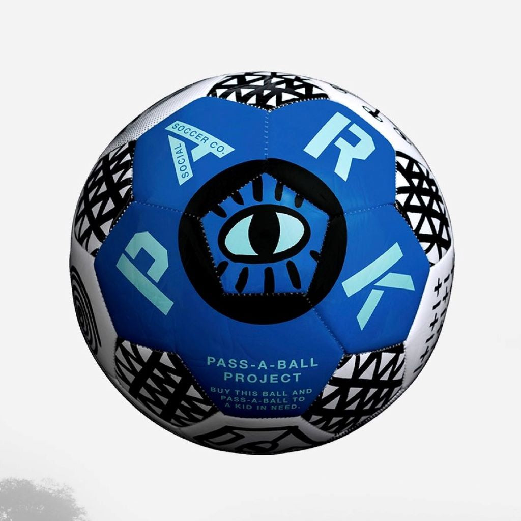 Park Social Soccer Ball Ultra Blue