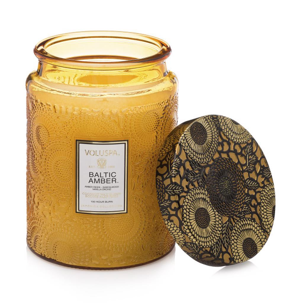 Voluspa Baltic Amber 100hr Candle