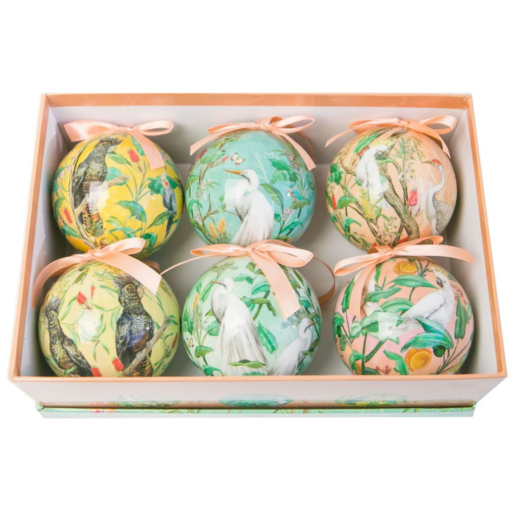 Bauble Set Christmas Chinoiserie