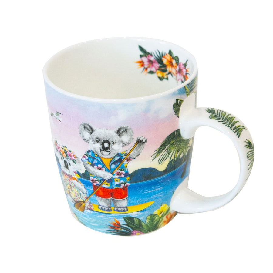 Sunshine Lovers Paddle Mug