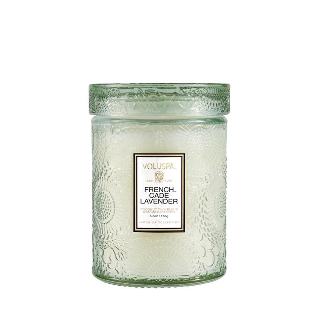 Voluspa French Cade 50hr Glass Candle