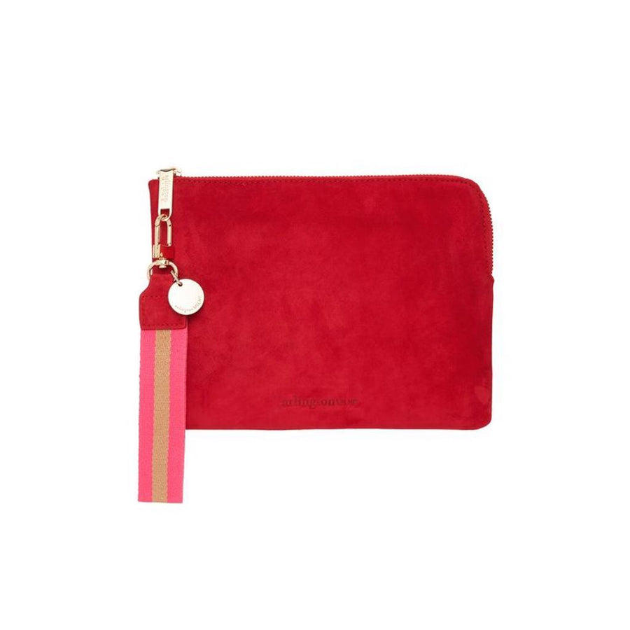 Paige Clutch - Cherry