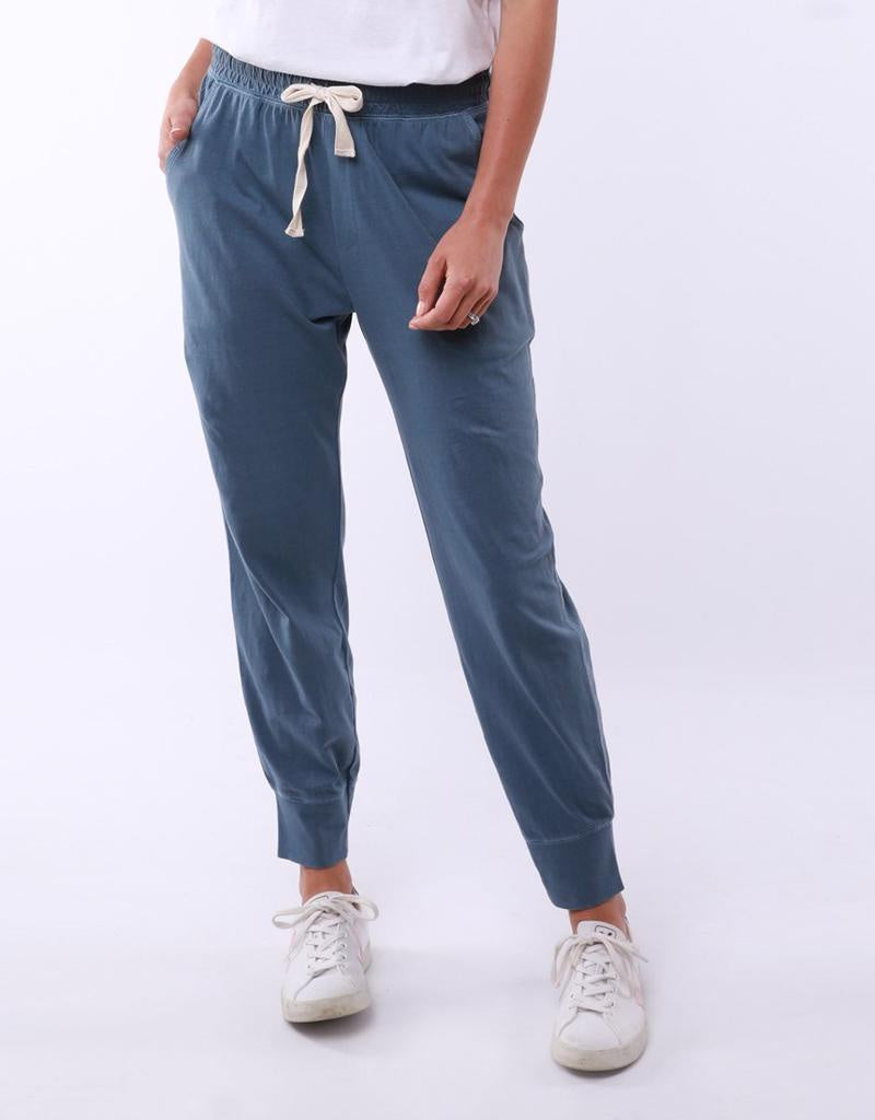 Wash Out Pant Steel Blue