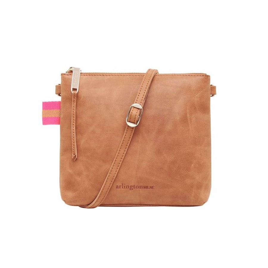 Alexis Crossbody - Vintage Tan