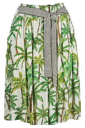 Paradise Skirt Lime Palm