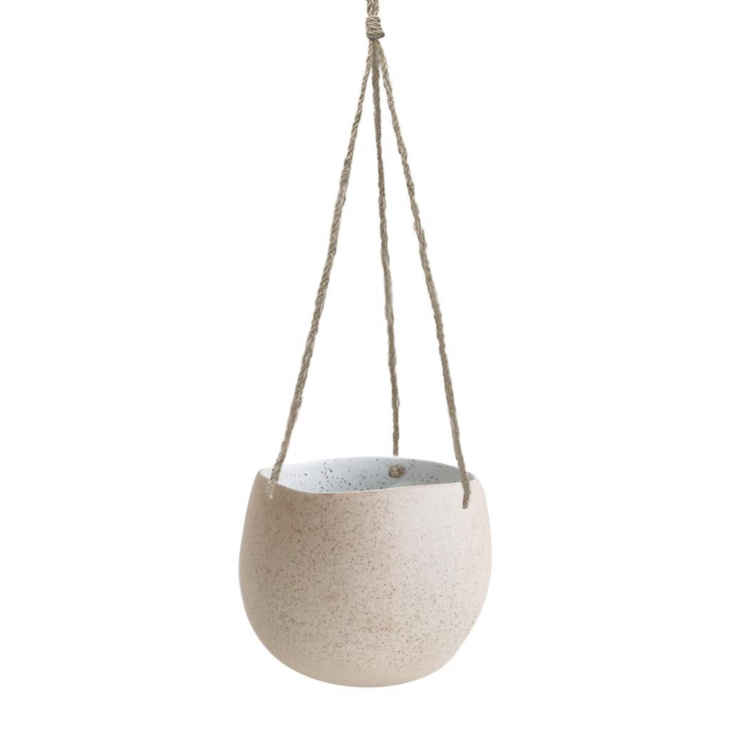 Garden to Table Hanging Planter Large White