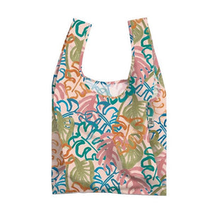 Wild Monstera Reusable Shopping Bag