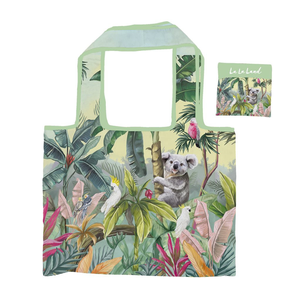 Nature Dwellings Tropical Foldable Shopper Bag
