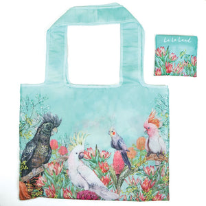 Cockatoos of Australia Foldable Shopper