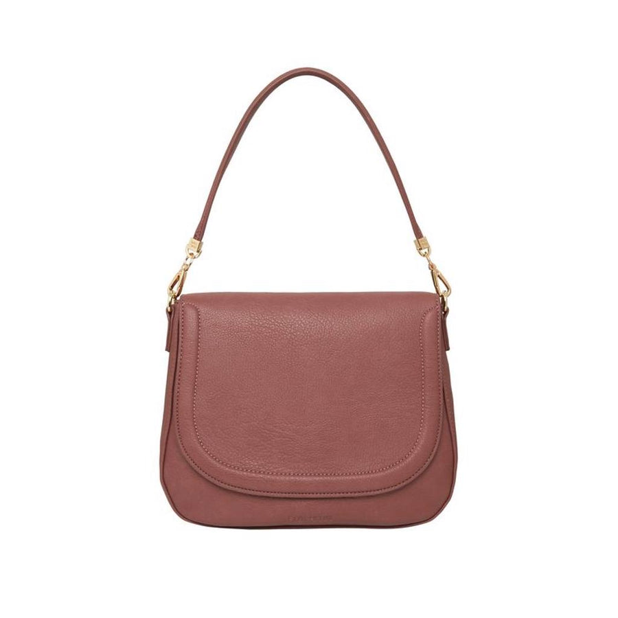 Ferrara Saddle Bag - Mulberry