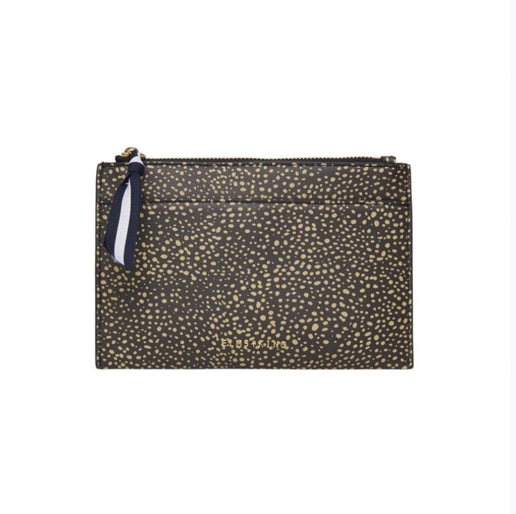 New York Coin Purse - Dark Cheetah