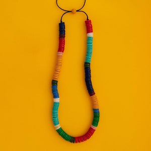 Maasai Serpent Coco Necklace