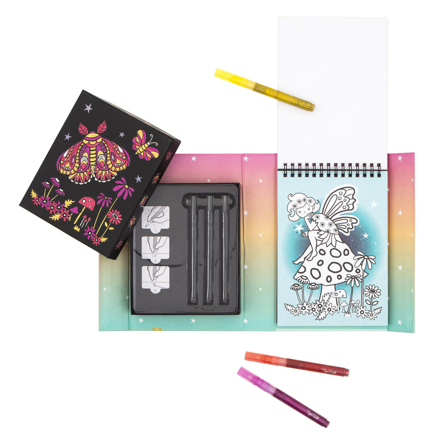 Glitter Colouring Set - Night Garden
