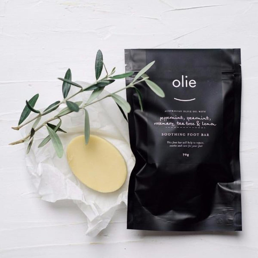 Olie Foot Bar Peppermint, Lemon & Tea Tree
