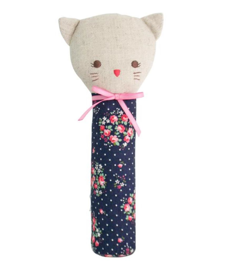 Odette Kitty Squeaker - Midnight Floral