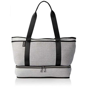 The Sunday Bag - Light Grey Marle