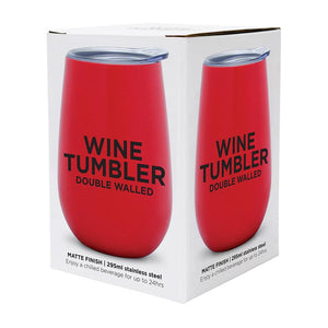 Wine Tumbler - Watermelon