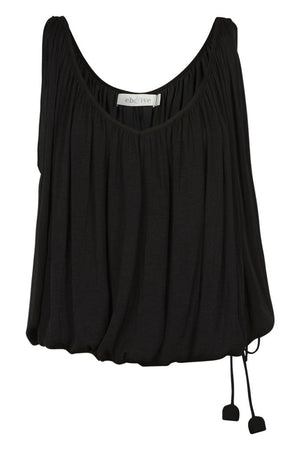 Zena Drawstring Top - Sable
