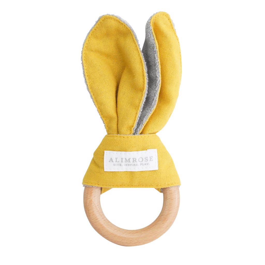 Bailey Bunny Teether Butterscotch