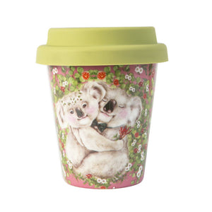 Koala Hugs Ceramic Coffee Cup