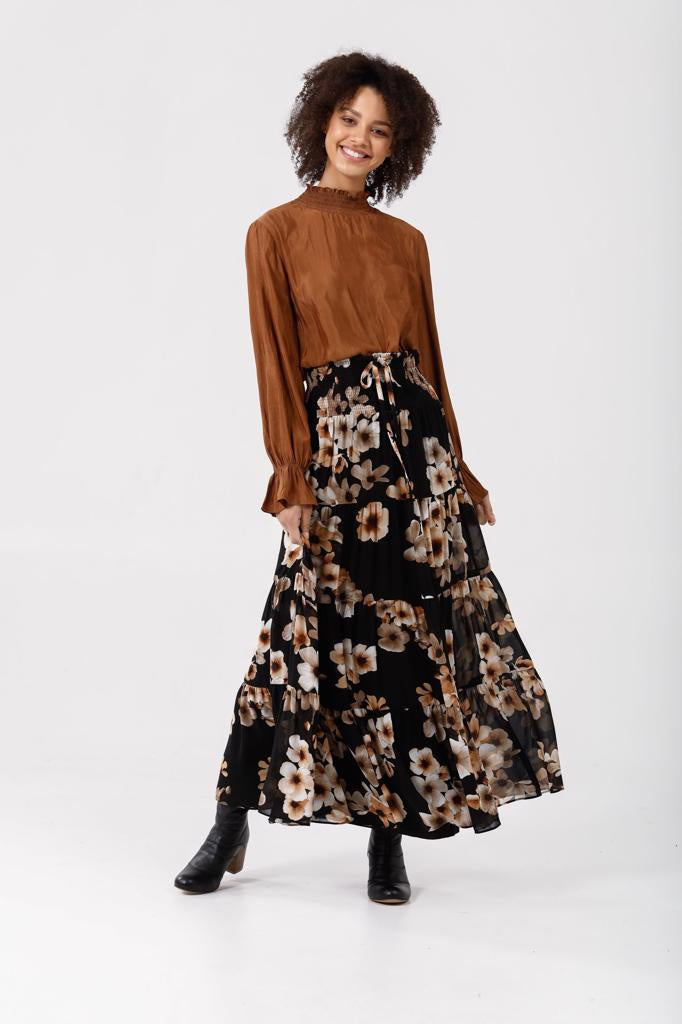 Greer Skirt Desert Bloom
