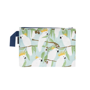 Cockatoo Zip Pouch